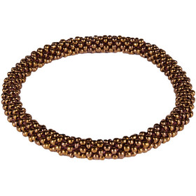 Sherpa Mayalu Solid Roll On Bracelet antique brass